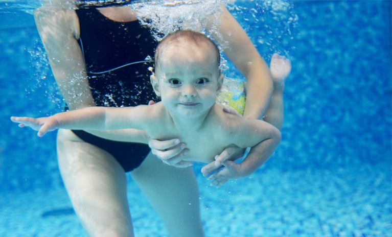 How salt chlorinators work hayward poolside blog for Can babies swim in saltwater pools