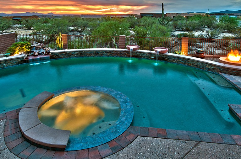 Top ten design trends an interview with dick covert of for Pool design trends