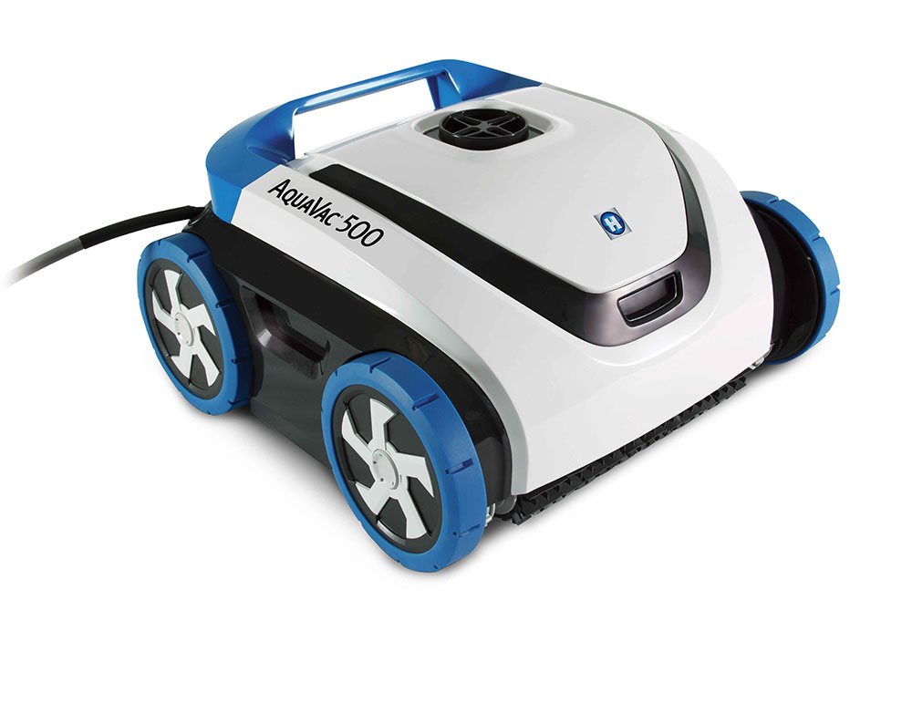 Aquavac 500 the new hayward robotic cleaner is here for Automatic pool cleaner reviews 2014