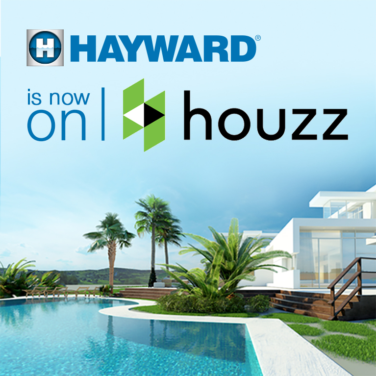 Hayward meets houzz for pool design inspiration hayward for Inspiration pool cleaner