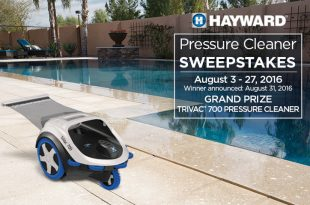 Hayward Pressure Cleaner Sweepstakes