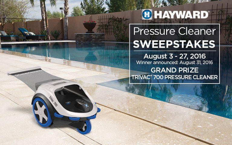 Hayward Pressure Cleaner Sweepstakes