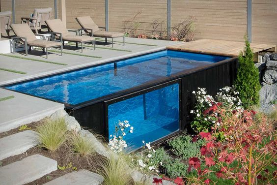 Hayward Poolside Blog: Shipping container pool