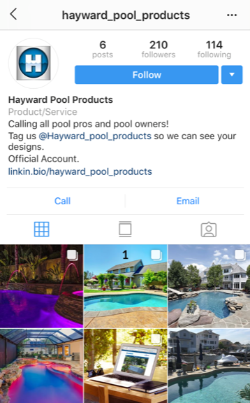 @Hayward_Pool_Products on Instagram