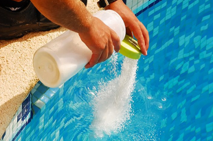 PoolSide Blog: How to take care of a salt water pool feature image