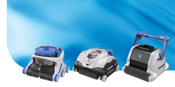 Hayward's Robotic Pool Cleaners line-up