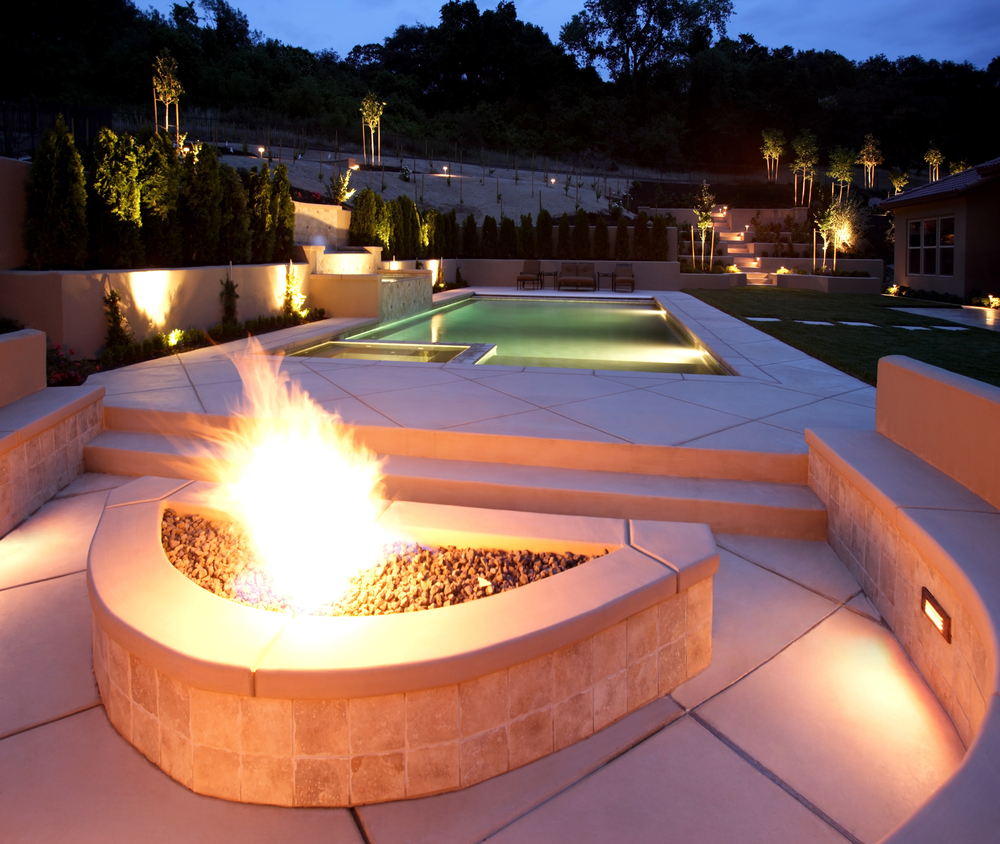 Fireside by the Pool