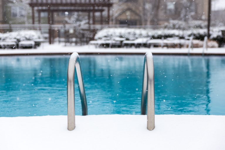 Pool Freeze Protection